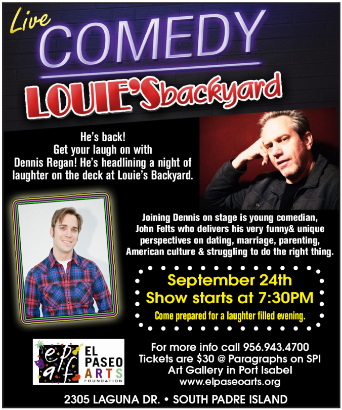 Live Comedy at Louie's Backyard