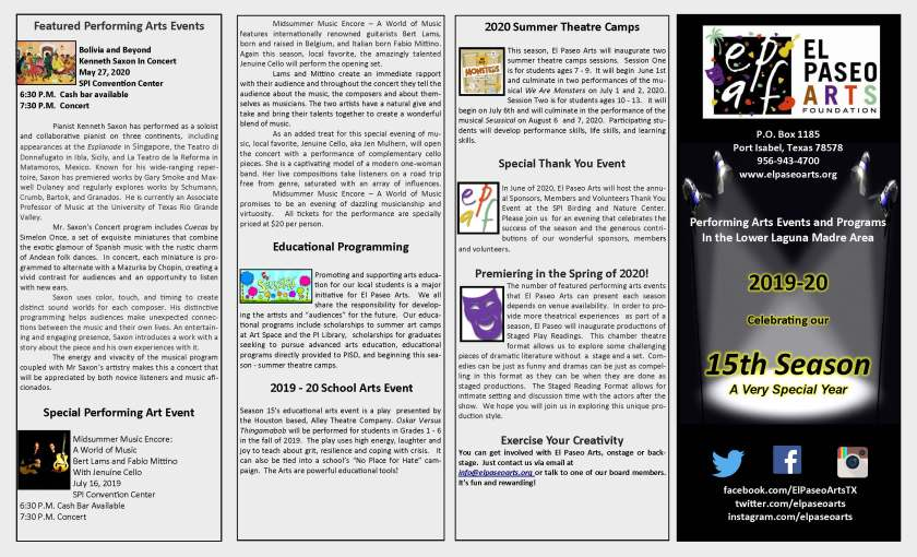 2019-20 season brochure p.2